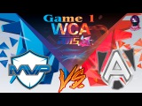 MVP Phoenix vs The Alliance #1 (bo2) (Ru) | World Cyber Arena 2015  (17.12.2015)