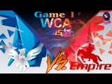 Wings vs Team Empire #1 (bo2) (Ru) | World Cyber Arena 2015  (18.12.2015)