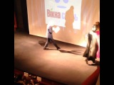 Bacara Cafe Дарт Вейдер на Ноч рекламожерв у Чернвцях