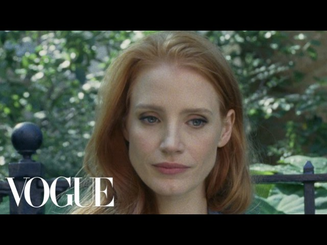 Jessica Chastain Stars in Scripted Content - Vogue Original Shorts