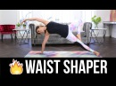 Quick Burn WAIST SHAPER Workout! Best Pilates Exercises for Slimming your Obliques!
