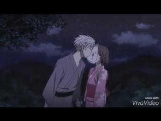 AMV аниме клип В лес,где мерцание светлячков .романтика . любовь