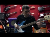 Борис Суздалев дает уроки игры на бас-гитаре. Урок №3_ Смена позиций по горизонтали