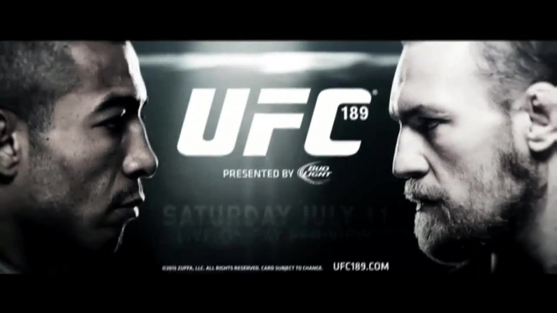 Jose Aldo vs Conor McGregor - UFC 189 Official Trailer Promo - [HD] on Tv Ma Lsv