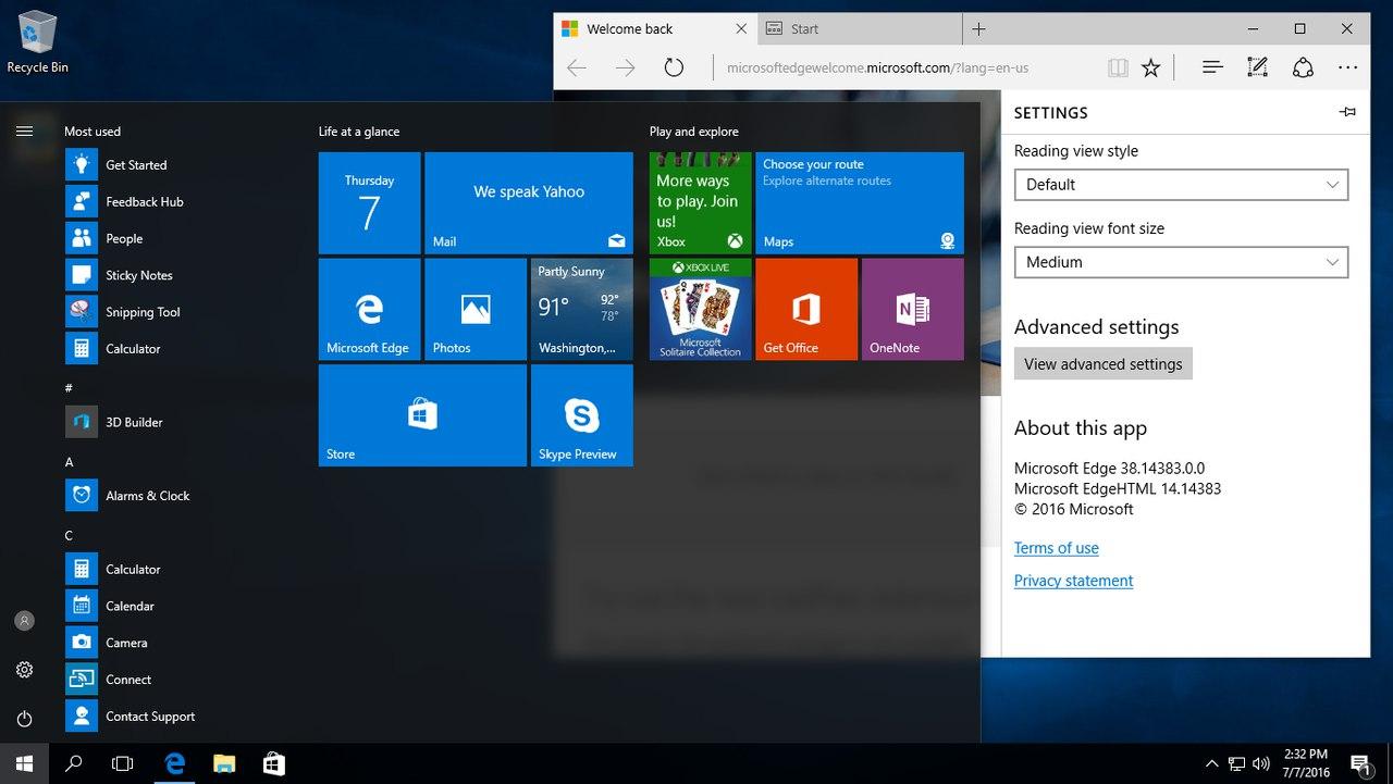 Windows 10 Redstone 1 build 14383 скачать торрент