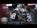 Patriots RB James White Breaks Huge Tackle to Score TD!