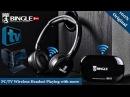 Наушники беспроводные FM радио ДЛЯ телевизора Bingle B616 Подключение наушников к телевизору
