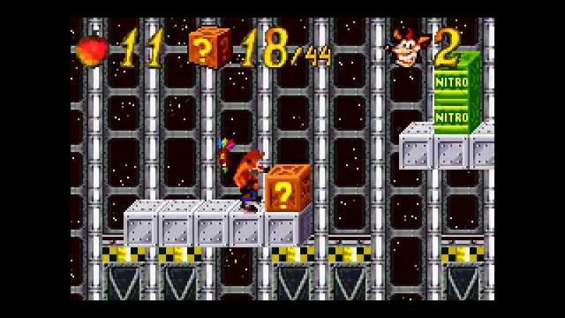 Game Boy Advance Longplay [070] Crash Bandicoot The Huge Adventure