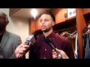 Stephen Curry on his 17-point outburst in the 2nd quarter vs Kings, Casspi, Seth Curry