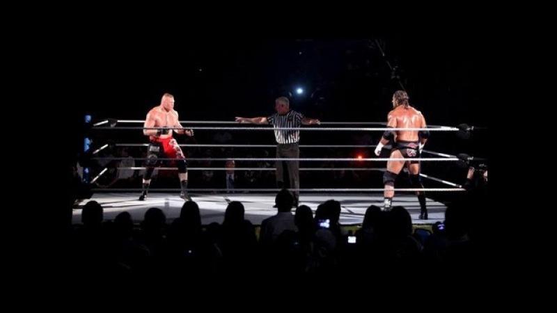 Brock Lesnar vs. Triple H: SummerSlam 2012 - Highlights