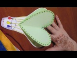 ОТКРЫТКА для БАБУШКИ и МАМЫ /простые поделки подарки из бумаги своими руками 3d. Идеи рукоделия!