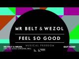 Mr. Belt &amp Wezol - Feel So Good (Original Mix) OUT NOW