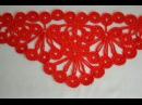 ♥ Узор крючком для шали Гроздья Рябины • Crochet stitch The bunch of rowan