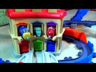 ПАРОВОЗИКИ из ЧАГГИНГТОН на русском. Chuggington Toys - Train Sets. ИГРУШКИ ТВ