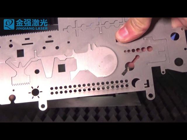 оптоволконный лазер резки стали и металла 3000вт Китая JQ LASER