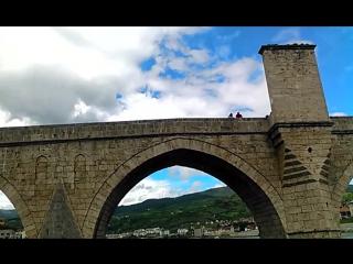 Вишеград.Босния.Старинный мост (16век)через реку Дрину,находится в списке всемирного наследия ЮНЕСКО