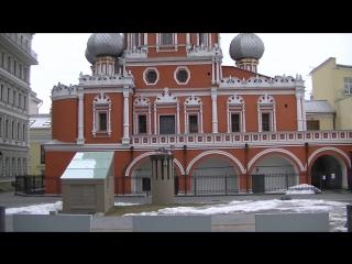 Храм Знамения иконы Божией Матери  в Москве на Шереметьевом дворе в шереметьевском подворье 00300