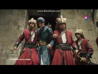 Янычары нашли и забрали Султана Османа. Жестокое отношение янычар и народа к Султану Осману.