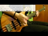 Red Hot Chili Peppers - Cant Stop (Bass Cover) (Play Along Tabs In Video)
