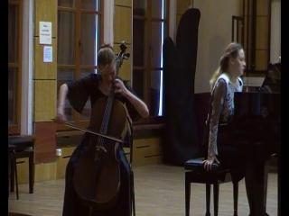 А. Дворжак. Концерт для виолончели с оркестром 1 ч.