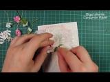 Шебби шик открытка на 8 марта. Shabby chic card for Womans Day