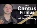Cool jazz soloing technique the Cantus Firmus Method AN's Bass Lessons 20