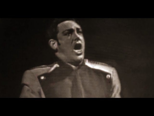Mario Del Monaco La Fleur Que Tu M'avait Jetee Carmen 1959 Bolshoi