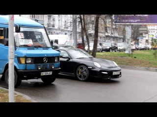 Porsche 997 TechArt GT Street start up