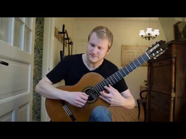 Eugene's Trick Bag: Crossroads - Steve Vai (Acoustic Classical Finger Style Guitar Cover)
