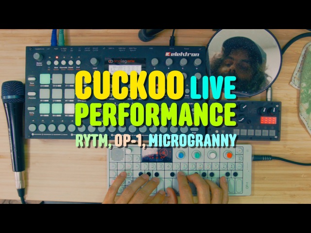 OP-1 Rytm microGranny 2 Live Performance by CUCKOO
