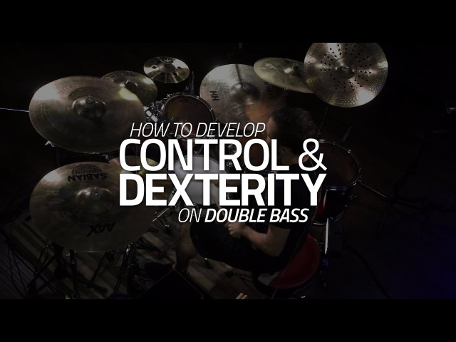 How To Develop Control Dexterity On Double Bass - Drum Lesson (Drumeo)