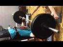 Спорт зал. НУБиП. Жим лежа 90 кг х 18 NUBiP. Общага 6
