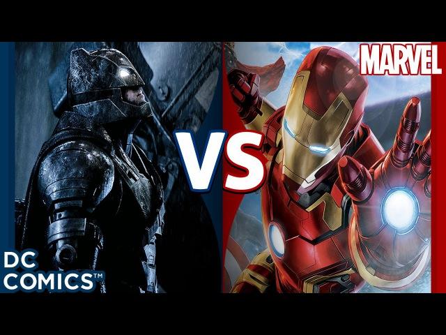 Железный Человек VS Бэтмен ДФ
