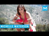 Michelle Waterson Karate Conditioning Training | Muscle Madness