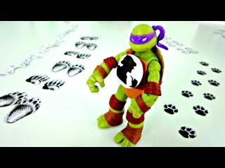 Черепашки Ниндзя Дон и Шерлок Холмс ищут след! Игры для детей от 5 лет онлайн