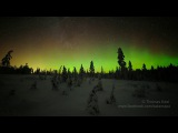 Aurora sequence - Rokua, Finland 16.01.2013