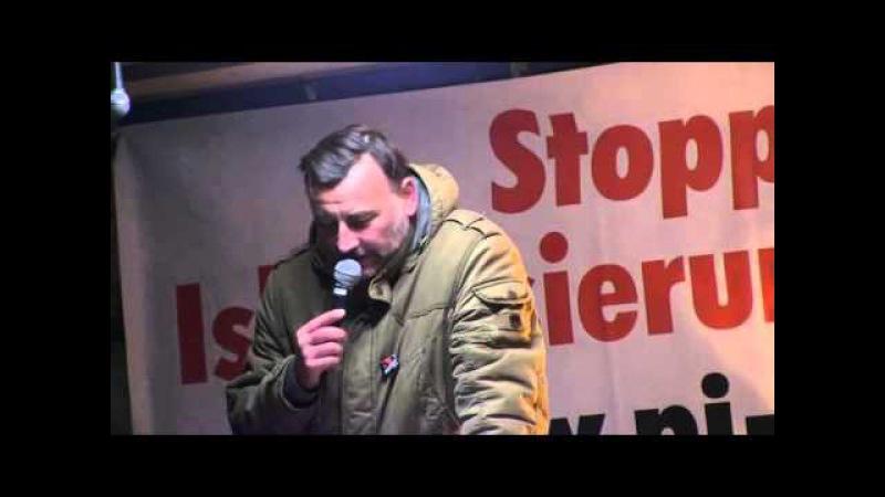 PEGIDA Dresden 04.01.2016 Rede von Lutz Bachmann Teil 1 Presse will Deutschland spalten.