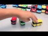 Мультики про машинки Автобус Тайо Игрушки | Tayo The Little Bus Toys | 꼬마버스 타요 와 친구들 장난감