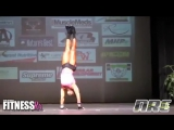 Nicole Duncan and Sarah Hayes Guest Posing at NPC New Jersey State Championships