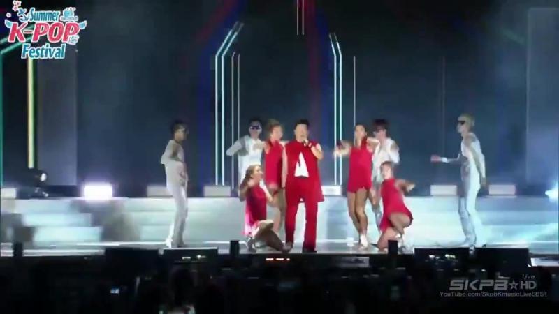 PSY (싸이) - Right Now (롸잇 나우) 썸머 케이팝 페스티벌 2015.8.4