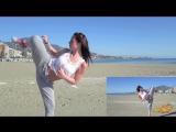 Chloe Bruce  -  Самые быстрые в мире удары ногой  вошли в Книгу Рекордов Гиннеса   ..