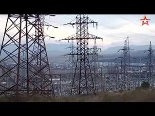 Крым полностью остался без электричества
