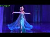 Диснеевские принцессы поют на родном языке