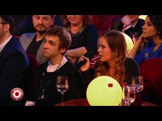 Даниил Вахрушев и Полина Гренц в Comedy Club (01.04.2016)