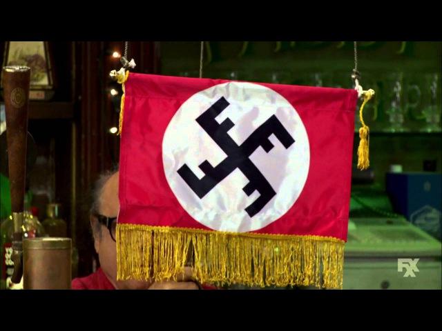It's Always Sunny in Philadelphia - Franks CharDee MacDennis Swastika Teamflag - CharDee MacDennis 2
