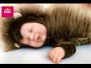 Кукла пупс спящий малыш в костюме ёжика от Anne Geddes распаковка игрушки беби борн