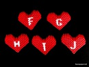 3d origami small heart tutorial ( letters  F- J)