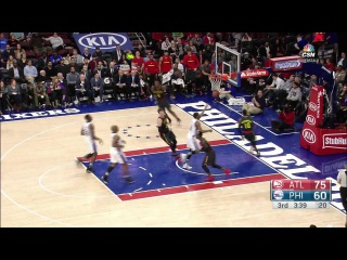 NBA Recap Atlanta Hawks vs Philadelphia 76ers | February 3, 2016 | Highlights