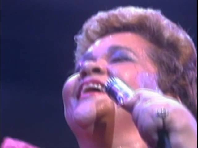 John Lee Hooker, Carlos Santana and Etta James - Something's Got A Hold On Me - 7/18/1986 (Official)