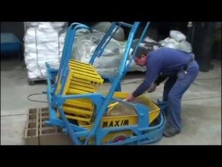 Изготовление стеновых блоков из керамзитобетона и отсевобетона